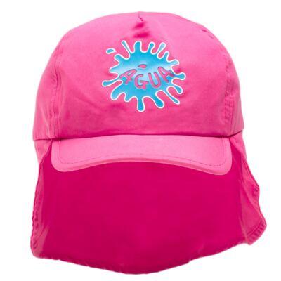 Imagem 1 do produto Boné c/ proteção em microfibra Pink - Cara de Criança - CH1316 BONE PINK CH CHAPEU PRAIA POLIESTER-P