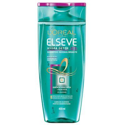 Imagem 2 do produto Kit Elseve Hydra Detox 48h Antioleosidade Shampoo 400ml + Condicionador 400ml