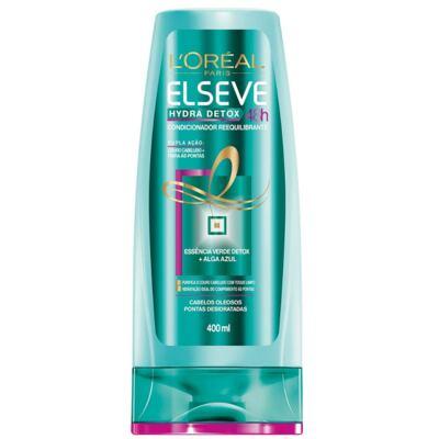 Imagem 3 do produto Kit Elseve Hydra Detox 48h Antioleosidade Shampoo 400ml + Condicionador 400ml