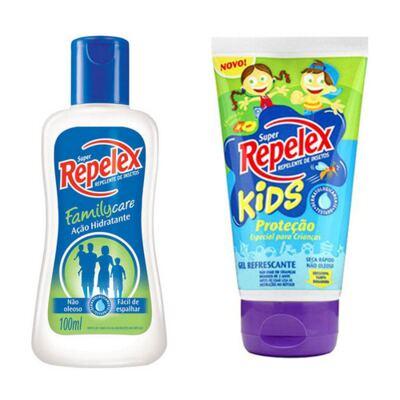 Imagem 1 do produto Repelente Repelex Kids 133ml + Repelente Repelex Loção 100ml