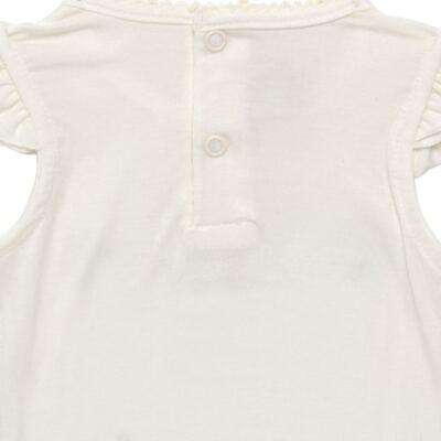 Imagem 4 do produto Blusinha com Calcinha Saia para bebe em viscolycra Butterflies - Baby Classic - 20521628 BLUSINHA M/C C/ SAIA VISCOLYCRA BUTTERFLY -M