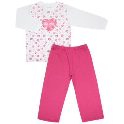 Imagem 1 do produto Blusão com Calça para bebe moletom Amour - Vicky Lipe