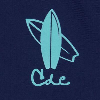 Imagem 3 do produto Conjunto de Banho Laguna: Camiseta surfista + Sunga - Cara de Criança - KIT 1 2576: SB2576 + CSA2576 SUNGA E CAMISETA PRANCHA BLUE-3