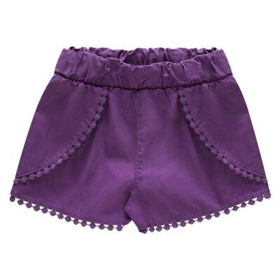 Imagem 3 do produto Blusinha c/ Shorts para bebe em cotton Sweety Candy - Charpey - CY20182.101 CONJ BLUSA E SHORT BRANCO-GG
