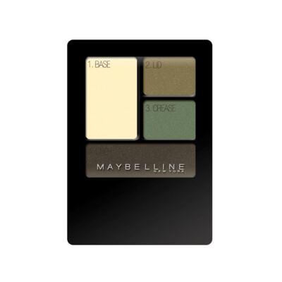 Imagem 1 do produto Quarteto de Sombras Maybelline New Expertwear Eyeshadow Emerald Smokes 4,8g