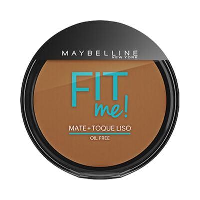 Imagem 1 do produto Maybelline Pó Compacto Mate + Toque Liso Fit Me! Cor 260 Médio Particular
