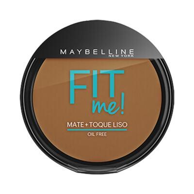 Imagem 1 do produto Maybelline Pó Compacto Mate + Toque Liso Fit Me! Cor 300 Escuro Original