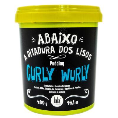 Imagem 1 do produto Creme de Pentear Curly Wurly Pudding 400g
