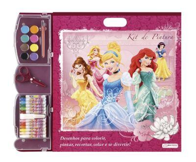 Imagem 1 do produto Kit de Pintura Princesas - BR057