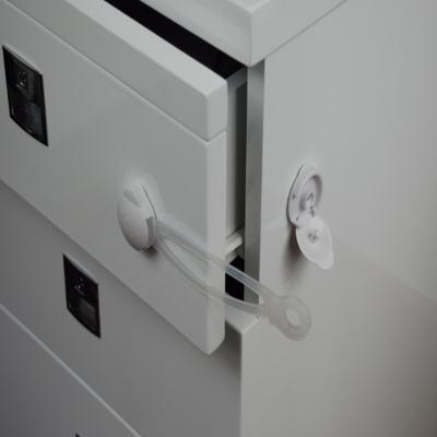 Imagem 1 do produto Trava Multiuso Flexível 2 Unidades Tamanho G Multikids Baby - BB258