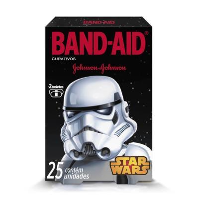 Imagem 4 do produto Curativo Band-Aid Star Wars Johnson´s 25 Unidades
