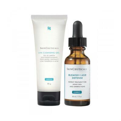 Imagem 1 do produto Kit Tratamento Skinceuticals Blemish Age Defense + Lha Cleasing