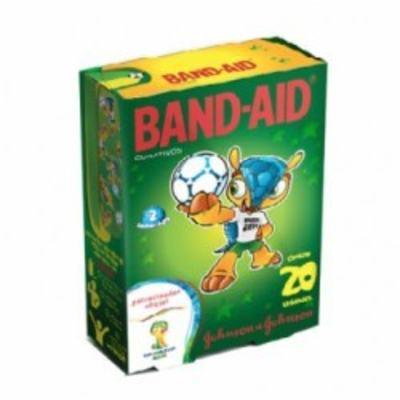 Imagem 1 do produto Curativo Band-Aid Fifa Johnson´s 20 Unidades