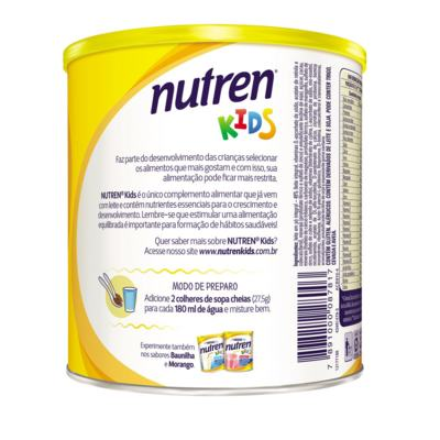 Imagem 6 do produto Suplemento Alimentar Nestlé Nutren Kids Chocolate 350g -