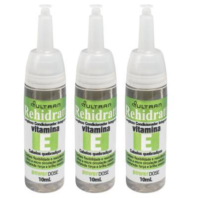 Imagem 1 do produto Vitamina E Rehidratt Ultran 10ml 3 Unidades