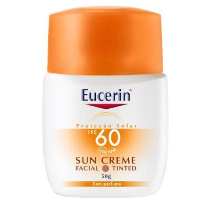 Imagem 1 do produto Eucerin Protetor Facial Sun Tinted FPS60 50g