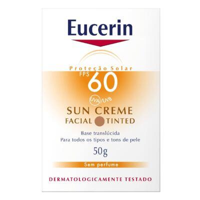Imagem 2 do produto Eucerin Protetor Facial Sun Tinted FPS60 50g