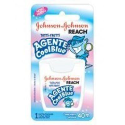 Imagem 1 do produto Fio Dental Johnson´s Agente Cool Blue - 40m