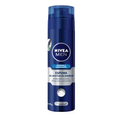 Imagem 1 do produto Espuma Barba Nivea For Men Refrescante 193g