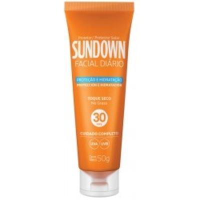 Imagem 1 do produto Protetor Solar Sundown Facial Diário FPS 30 50g