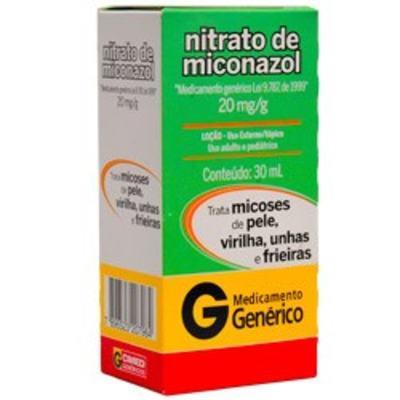 Loção Nitrato de Miconazol CIMED Genérico Cimed - 20mg/g   30g