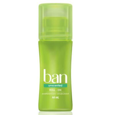 Imagem 1 do produto Desodorante Ban Roll On Unscented Sem Perfume 44ml