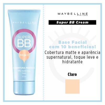 Imagem 4 do produto Base Facial Maybelline Super BB Cream - Claro