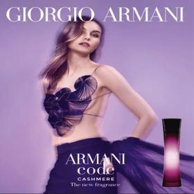 Armani Code Cashmere Giorgio Armani - Perfume Feminino - Eau de Parfum - 30ml