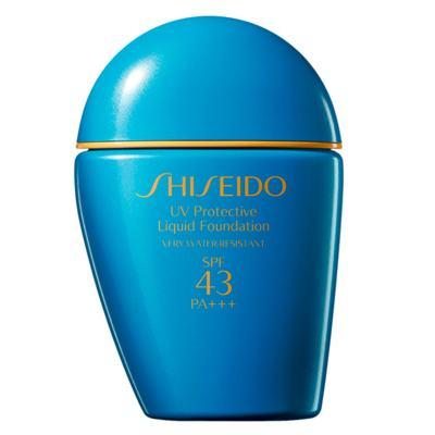 Imagem 2 do produto UV Protective Liquid Foundation SPF 43 Shiseido - Base para Rosto - Dark Beige