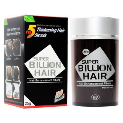 Imagem 4 do produto Super Billion Hair - Disfarce para Calvície 25g - Castanho Escuro