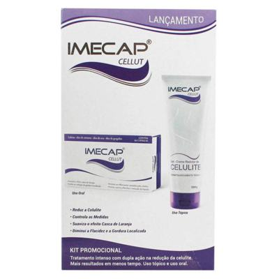 Imagem 1 do produto Imecap Cellut Kit Creme + 60  Cápsulas