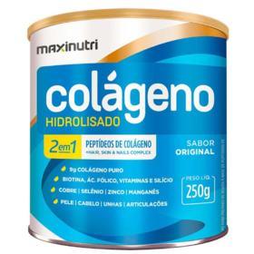 Colágeno Hidrolisado 2 Em 1 - 250g Original - Maxinutri