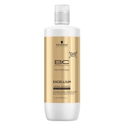 Imagem 3 do produto Schwarzkopf BC Bonacure Excellium Taming Shampoo - Schwarzkopf BC Bonacure Excellium Taming Shampoo 1000ml