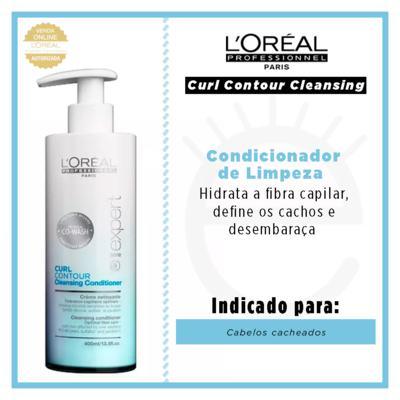 Imagem 4 do produto L'Oréal Professionnel Curl Contour Cleansing - Condicionador de Limpeza - 400ml