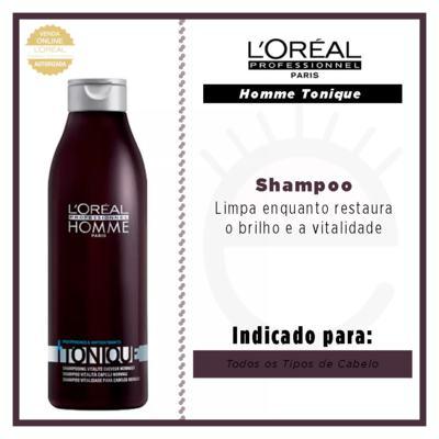 Imagem 4 do produto L'Oréal Professionnel Homme Tonique - Shampoo - 250ml