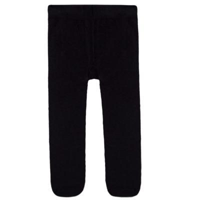 Imagem 2 do produto Meia calça para bebe em algodão Preto - Puket - PK2401L-P MEIA CALCA BABY LISA PRETO-1-3 anos