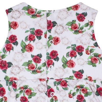 Imagem 3 do produto Vestido em algodão egípcio Le Flowers - Bibe - 37E10-G23 VE EST DIG GDE BY BIBE-3