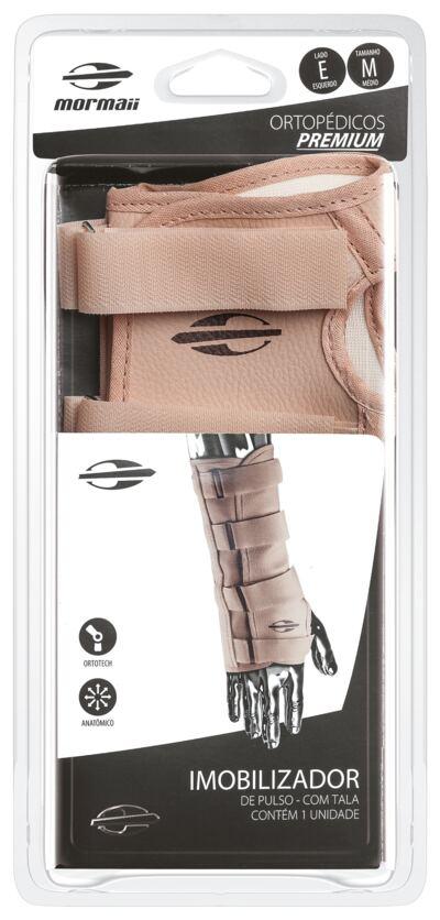 Imagem 2 do produto Imobilizador de Pulso com Tala Ortotech Mormaii - Bege Esquerdo G