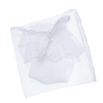 Imagem 3 do produto Meia para bebê laise Branca - Roana
