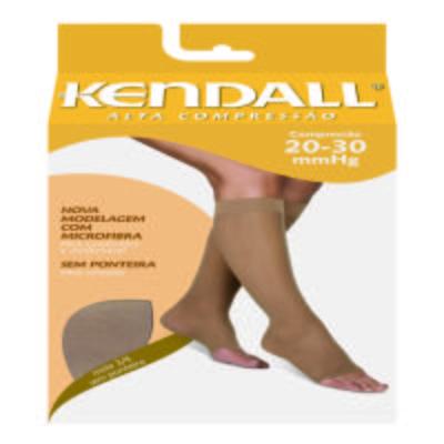 Imagem 1 do produto Meia Panturrilha 20-30 Alta Kendall - PRETO PONTEIRA FECHADA G