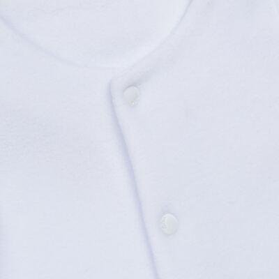 Imagem 2 do produto Casaco para bebe em microsoft Branco - Bibe - 10M14-01 CAS BASICO CRISTAL BY BIBE-M