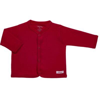 Imagem 1 do produto Casaco para bebe em suedine Vermelho - Tilly Baby - TB13115.04 CASACO SUEDINE VERMELHO CEREJA-P