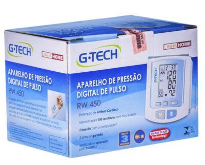 Imagem 2 do produto Aparelho de Pressão Digital De Pulso RW450 G Tech