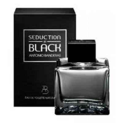 Imagem 1 do produto Seduction In Black Splash Eau De Toilette Masculino by Antonio Banderas - 200 ml