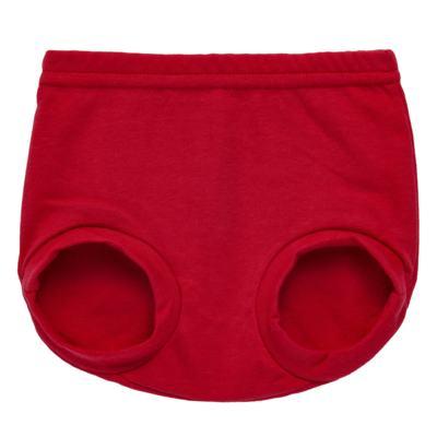 Imagem 1 do produto Cobre Fralda para bebe em suedine Vermelho - Tilly Baby - TB13116.04 COBRE FRALDA VERMELHO CEREJA-G