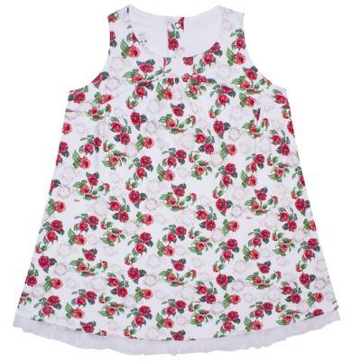 Imagem 1 do produto Vestido em algodão egípcio Le Flowers - Bibe - 37E10-G23 VE EST DIG GDE BY BIBE-1