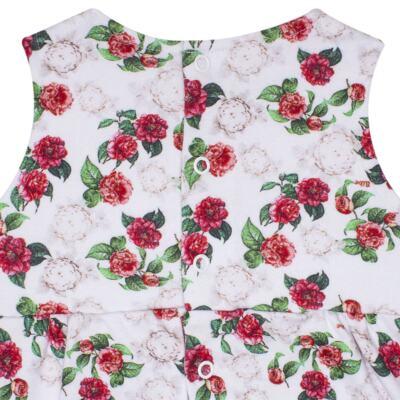 Imagem 3 do produto Vestido em algodão egípcio Le Flowers - Bibe - 37E10-G23 VE EST DIG GDE BY BIBE-1