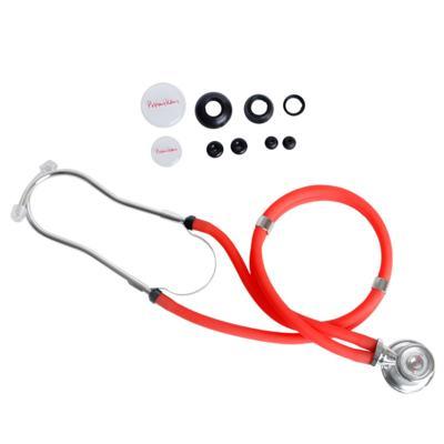 Imagem 1 do produto Estetoscópio Rappaport Vermelho Premium