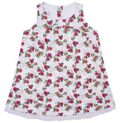 Imagem 1 do produto Vestido em algodão egípcio Le Flowers - Bibe - 37E10-G23 VE EST DIG GDE BY BIBE-2