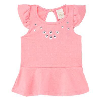 Imagem 2 do produto Bata c/ Legging para bebe Peach - Time Kids